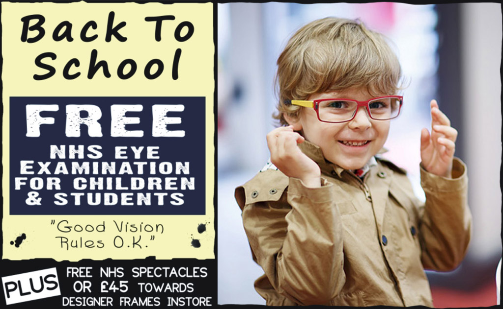 3556586579eb Free Children s Eye Exams - Complete Eyecare